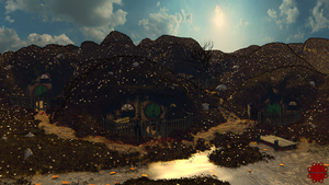 Lord of the Rings - 002- Hobbit Village d1080p by Bossbecher