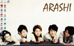 Arashi Desktop by shadowpheonix64