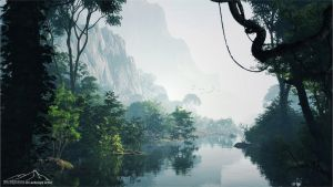 Enchanted View by 3DLandscapeArtist