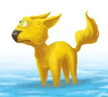 123 yellow creature by foice