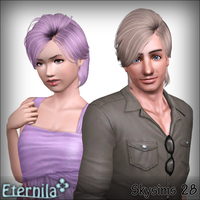 Skysims 28 - Retextured for Females and Males by D3N1ZFTW