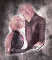 Jill, Wesker - I stayed in the darkness with you. by MasterOfUnlocking