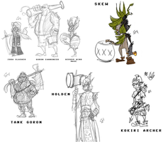 tg Zelda RPG Concepts by Zito-is-Neato