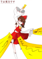 T is for Touhou by silkhat