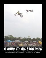 A Word To All Stuntmen by Timekeeperxx