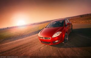 Fiat Bravo - the sunrise by dejz0r