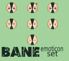 Bane Emoticon Set by Axiniana
