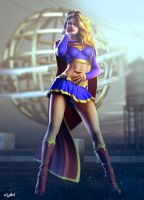 SUPERGIRL ICONIC by isikol