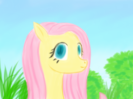 My lovely Fluttershy by Vasillium