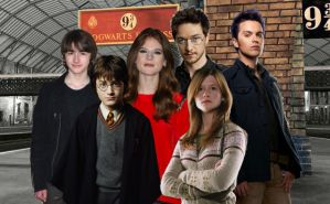 The Potter Family with Teddy Lupin by nickelbackloverxoxox