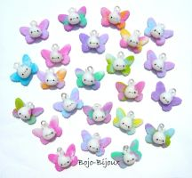 "Kawaii ""Rabbitflies"" by Bojo-Bijoux"