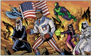 The Freedom Brigade by D-MAC