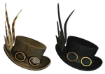 Gothic Hat PNG Stock by Roy3D