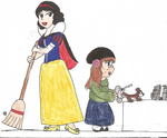 Me and Snow White by Invader-Zodiac
