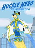 Huckle Hero the Super Dog by MCsaurus