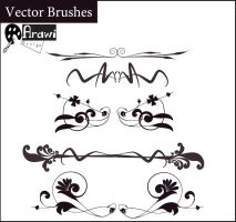 vector brushes by A-rawi