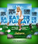 Easter PSD Flyer Template by hotflyers