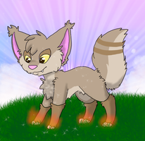 Lezlie as a pokemon by Scenie-Queenie