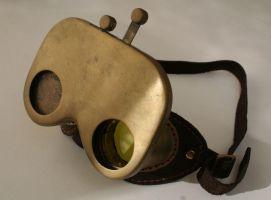 Steampunk Hoodwink Goggles 2 by Gogglerman