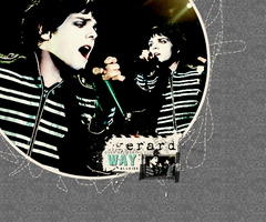 I love Gerard Way by aDancerToTheMoon