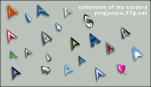 collection of my cursors by JJ-Ying