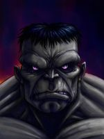 THE GREY HULK by QuinteroART