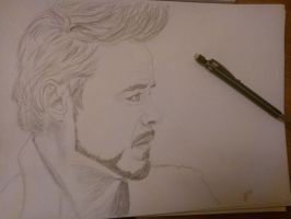Robert Downey Junior... by Sherlyana11