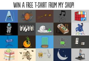 Win a Free t-shirt! by Naolito