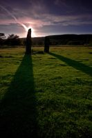 Carse Standing Stones by crowthius