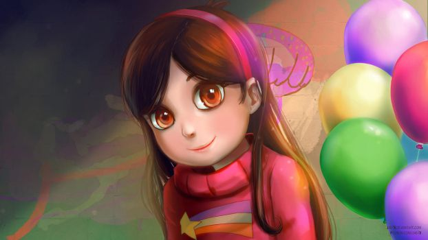 Mabel (commission) by JaezX