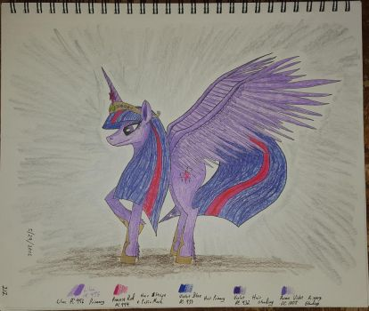 Princess Twilight, later years by siberian502