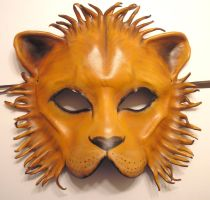Leather Lion Mask by teonova