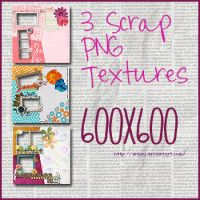 3 Scrap Png Textures by aNiLaU
