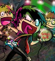 iiit's green day by frostfire14