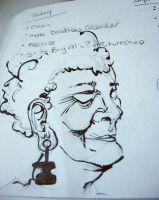 Old earlobes by wikkedvenus