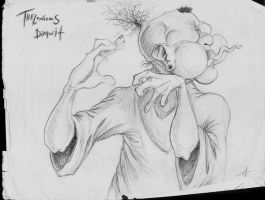 Thelonious Dimwit by mercinder