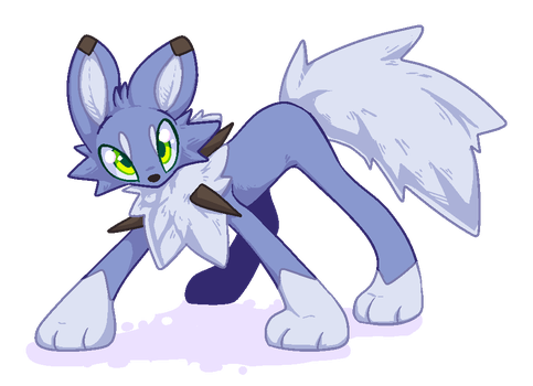 Lycanroc by LuxuryDeluxe