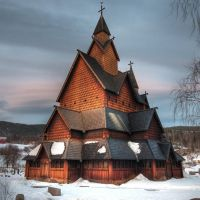 Heddal Stave Church by HansHaram
