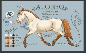Alonso Reference by silverglass19