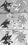 Valentines Day- Sonadow comics by hateantisonicyaoi