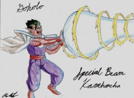 Goholo:Special Beam Kamehameha by captain77