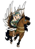 Valkyrie - Regnleif color by Dwelian