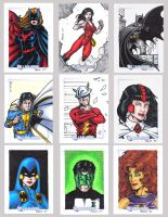 DC Legacy Sketch Cards M by tonyperna
