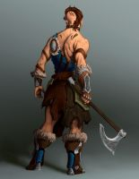 The Barbarian by ThranTantra