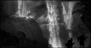 BW Environment sketch by sarichev