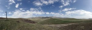 Pano with road II by voldemometr