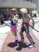 Ashe and Vaan by WitchyElphaba