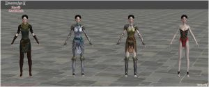 Dragon Age II: Merrill model pack (UPDATED) by Berserker79