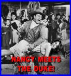 Nancy Pelosi Meets The Duke by Elvis-Chupacabra