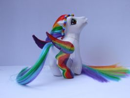 Rainbow Flight Custom G3 Pony by bambikate